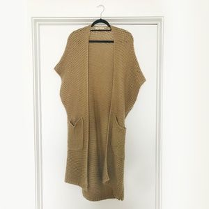 Anthropologie: Extra Long Knit Cardigan